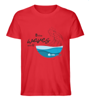 Kitesafe.de 2020 Herren T-Shirt Wave dunkel