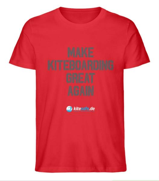 Kitesafe.de 2020 Herren T-Shirt MKGA dunkel