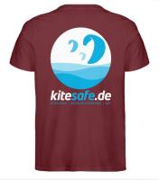 Kitesafe.de 2020 Herren T-Shirt Logo